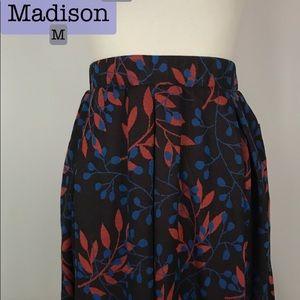 Medium LuLaRoe Madison Skirt with Pockets! NWT